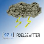 Pixelgewitter